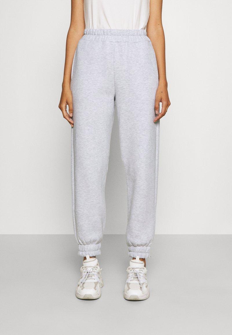 Stieglitz - Teplákové kalhoty - grey melange