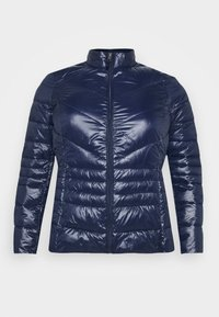 Vero Moda Curve - VMSORAYASIV SHORT JACKET CURVE - Light jacket - navy blazer - 4
