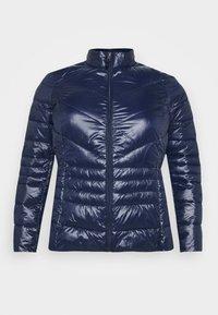 VMSORAYASIV SHORT JACKET CURVE - Light jacket - navy blazer