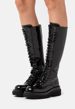DIABOL - Platform boots - black box