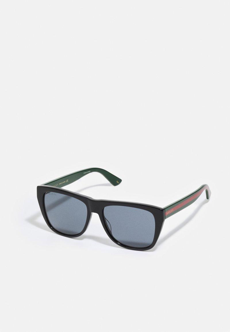Gucci - UNISEX - Sunglasses - black/green/grey