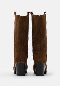 Softclox - Platform boots - brown - 3