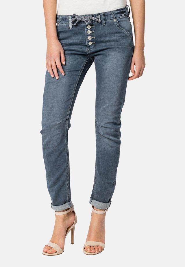Slim fit jeans - middle-blue