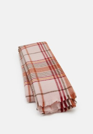 Scarf - light pink/bordeaux
