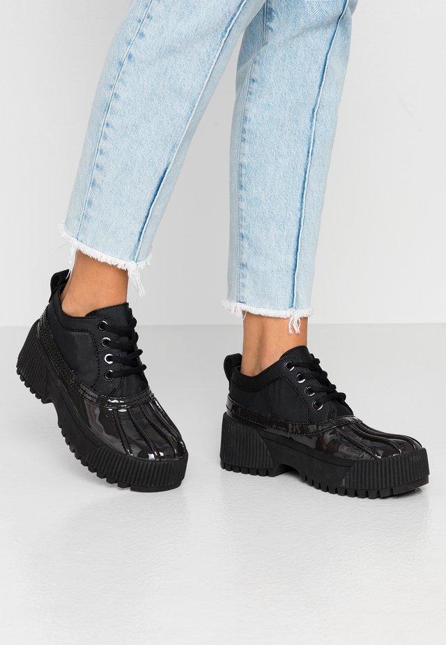 MALLARD - Lace-ups - black