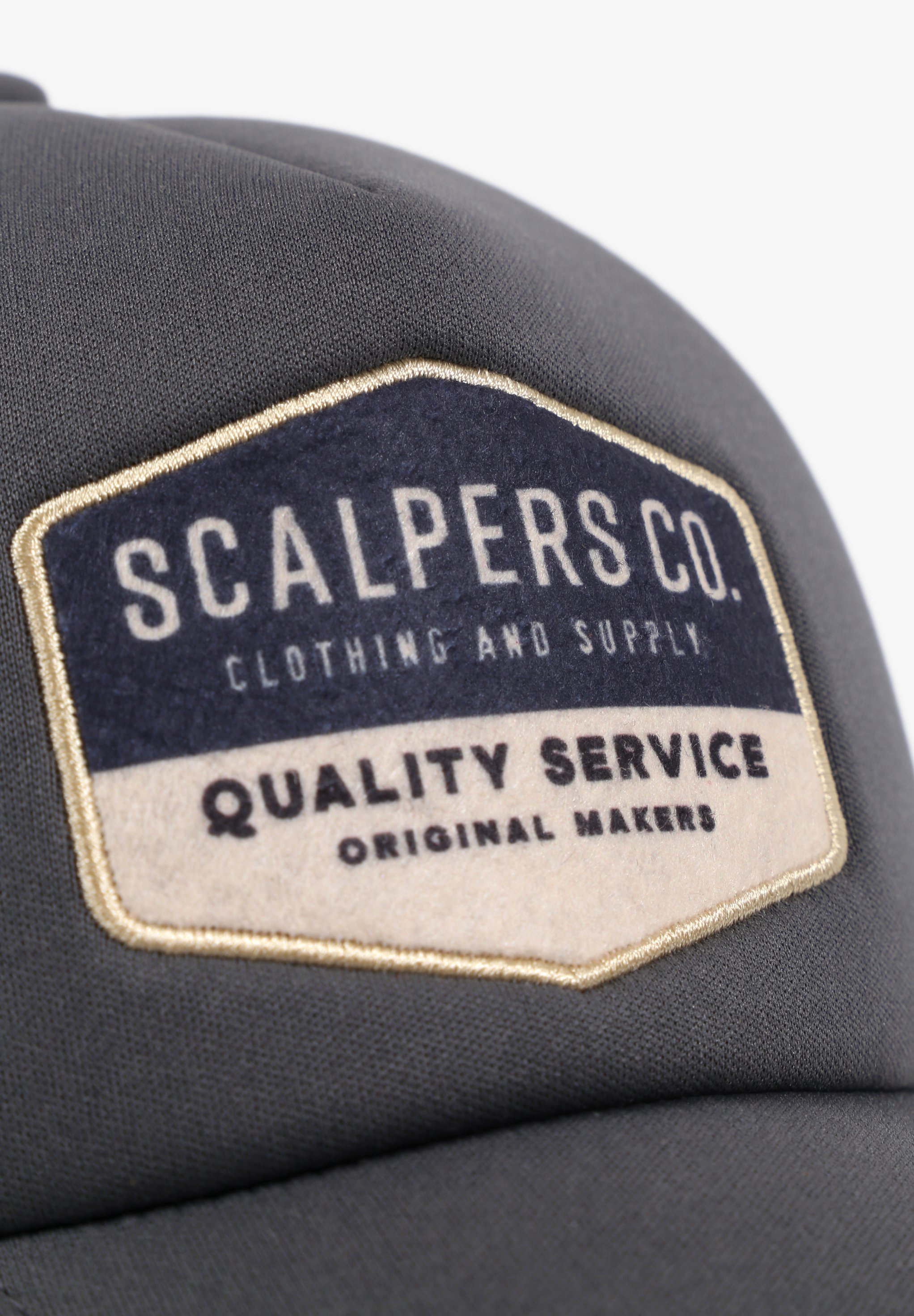 Scalpers CO - Cap - grey/grau - Herrenaccessoires e9bsp