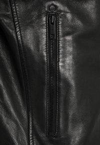 Strellson - DERRY - Kožená bunda - black - 6