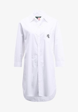 HERITAGE ESSENTIALS CLASSIC HIS SLEEPSHIRT  - Camicia da notte - white