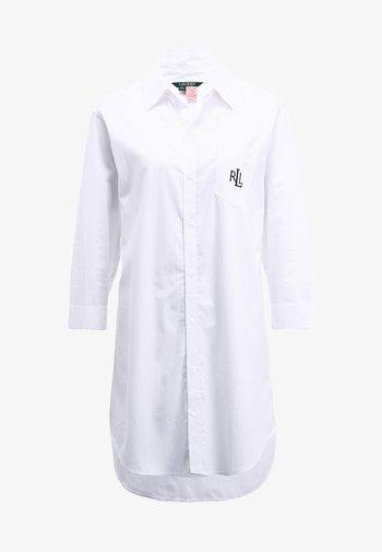 HERITAGE ESSENTIALS CLASSIC HIS SLEEPSHIRT  - Nattskjorte - white