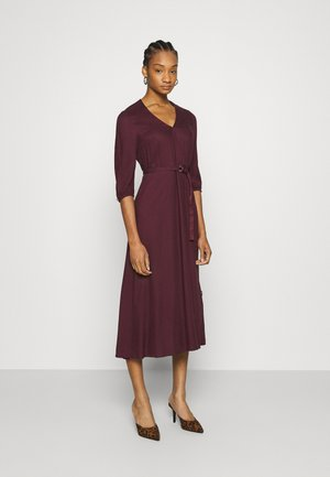 WRAP MIDI DRESS - Day dress - port royale