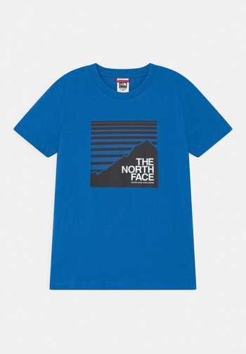 BOX TEE UNISEX - T-shirts med print - hero blue