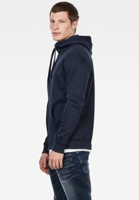 G-Star - PREMIUM BASIC HOODED ZIP - Zip-up hoodie - sartho blue - 2