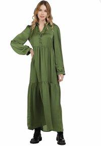 DreiMaster - Maxi dress - oliv - 1