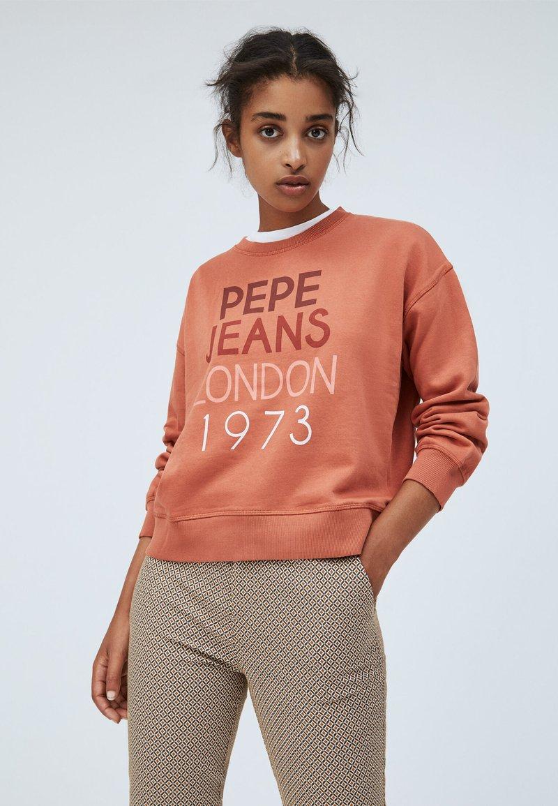 Pepe Jeans - MARTA - Sweatshirt - russet
