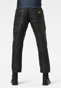 G-Star - 5620 3D ORIGNAL RELAXED TAPERED MERCHANT - Relaxed fit jeans - waxed black cobler - 1