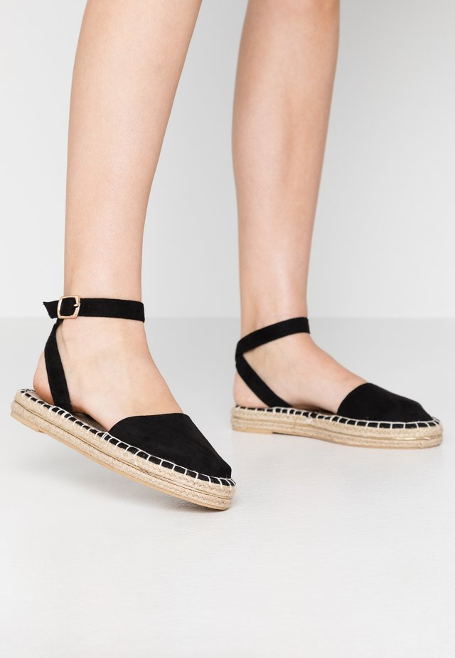MOGUE - Espadrillot - black