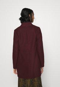 Vero Moda - VMBRUSHEDKATRINE JACKET - Krátký kabát - port royale/melange - 3