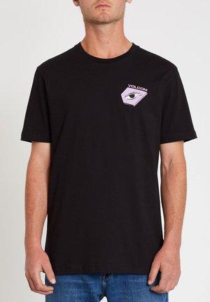 M. LOEFFLER 2 FA SS - Print T-shirt - black