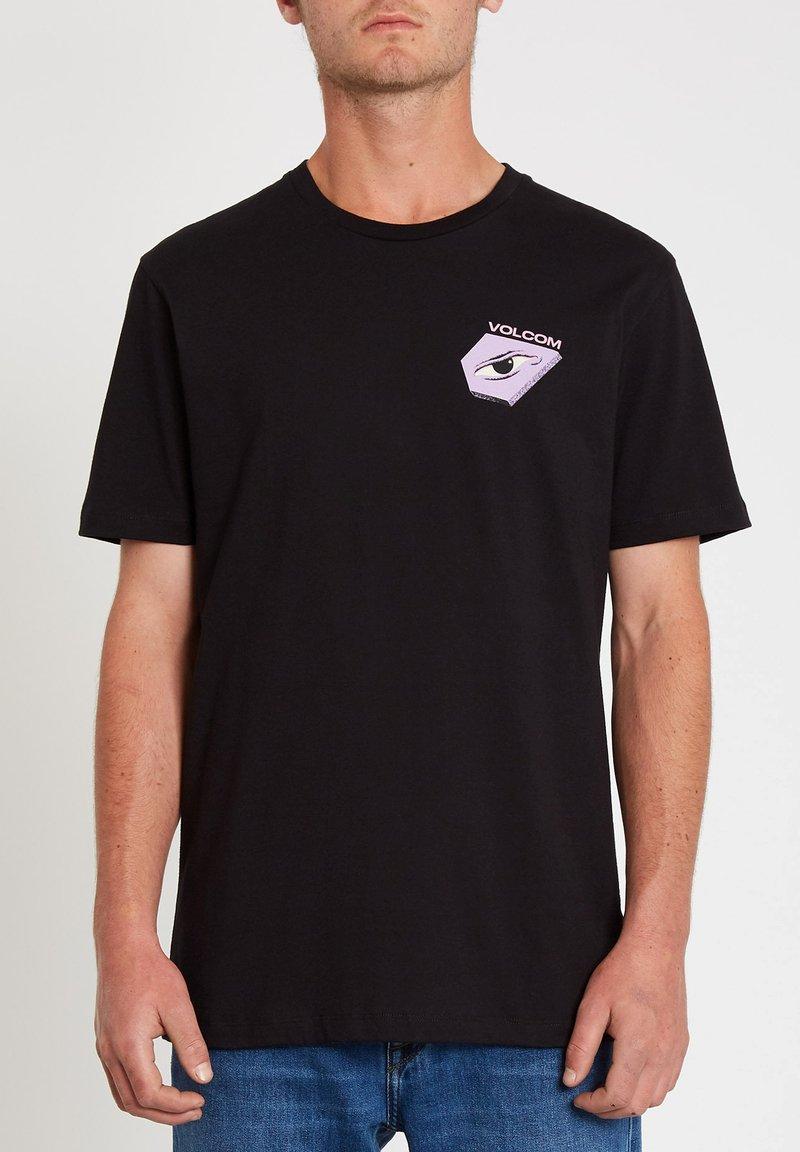 Volcom - M. LOEFFLER 2 FA SS - Print T-shirt - black