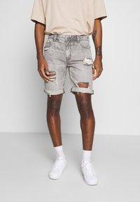 Cotton On - ROLLER - Džínové kraťasy - grey - 0