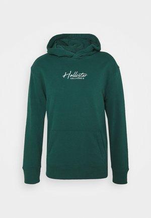 SOLID SCRIPT - Sweatshirt - emerald green