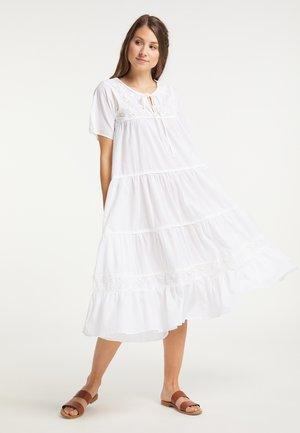 Maxi dress - wollweiss