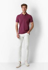 Scalpers - Polo shirt - burgundy - 1