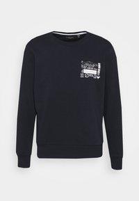 SAMWELL - Sweatshirt - rich navy/optic white