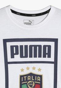 Puma - ITALIEN FIGC PUMA DNA TEE - Oblečení národního týmu - white - 4