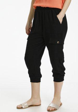 Pantalones cargo - black deep