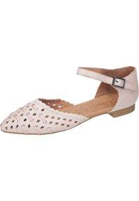 Piazza - Ankle strap ballet pumps - rosa - 1