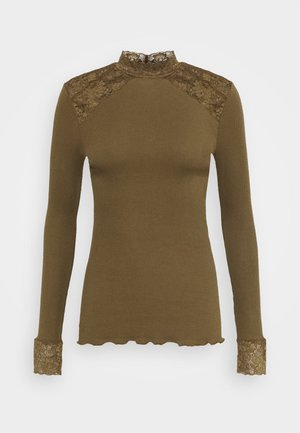 TURTLENECK - Camiseta de manga larga - military olive