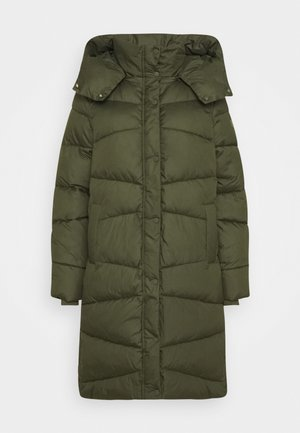 Winter coat - dark rosin green