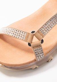 Toral - Sandaalit nilkkaremmillä - aute natural - 2
