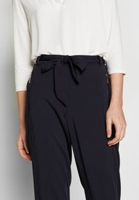 comma - TROUSERS - Bukser - ink blue - 4