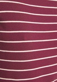 Anna Field - Langærmede T-shirts - dark red/camel - 5