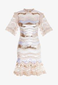 Needle & Thread - ALASKA MINI DRESS - Koktejlové šaty/ šaty na párty - pearl rose - 4