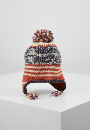 Beanie - blue/orange