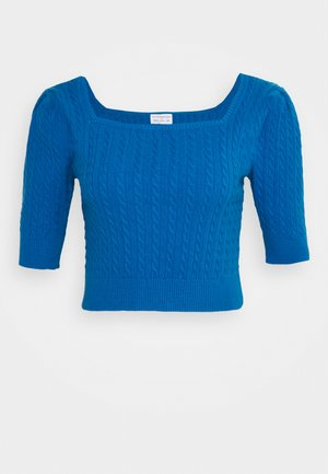 LADIES JUMPER  - Strikkegenser - petrol blue