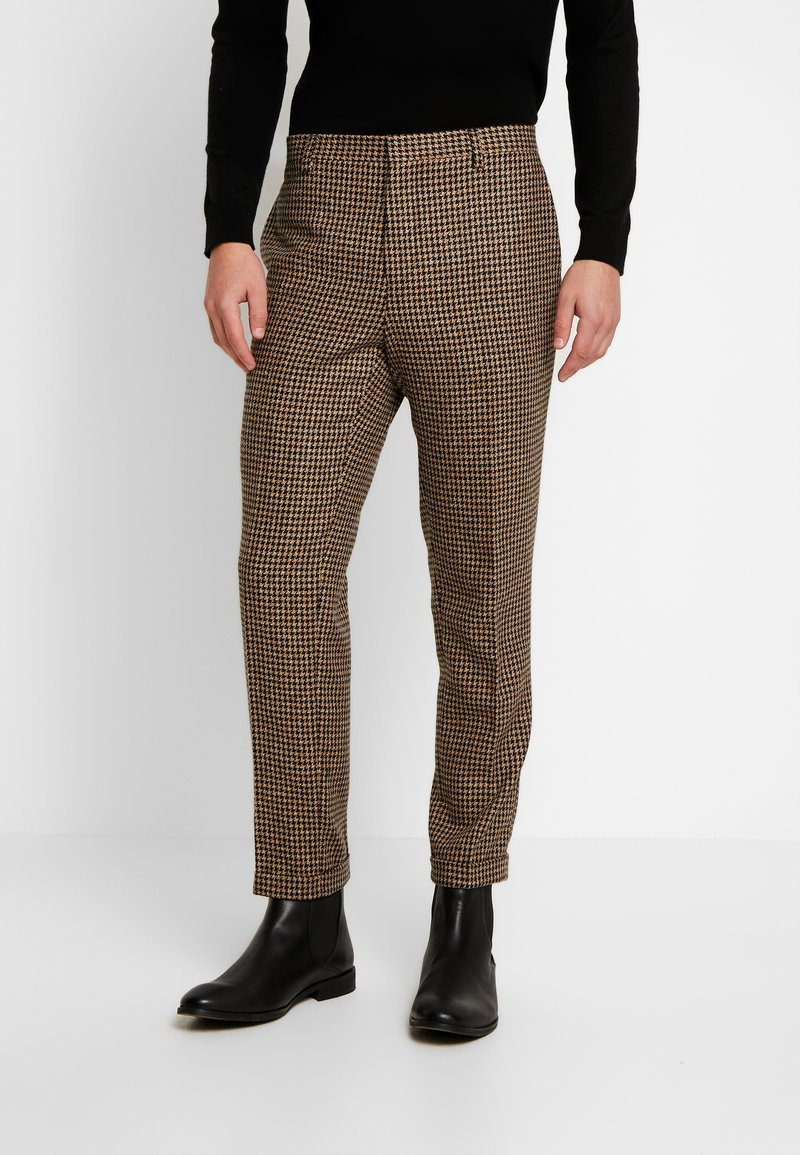 Shelby & Sons - KNIGHTON TROUSER - Bukse - brown