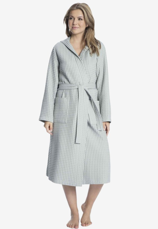 Dressing gown - stone