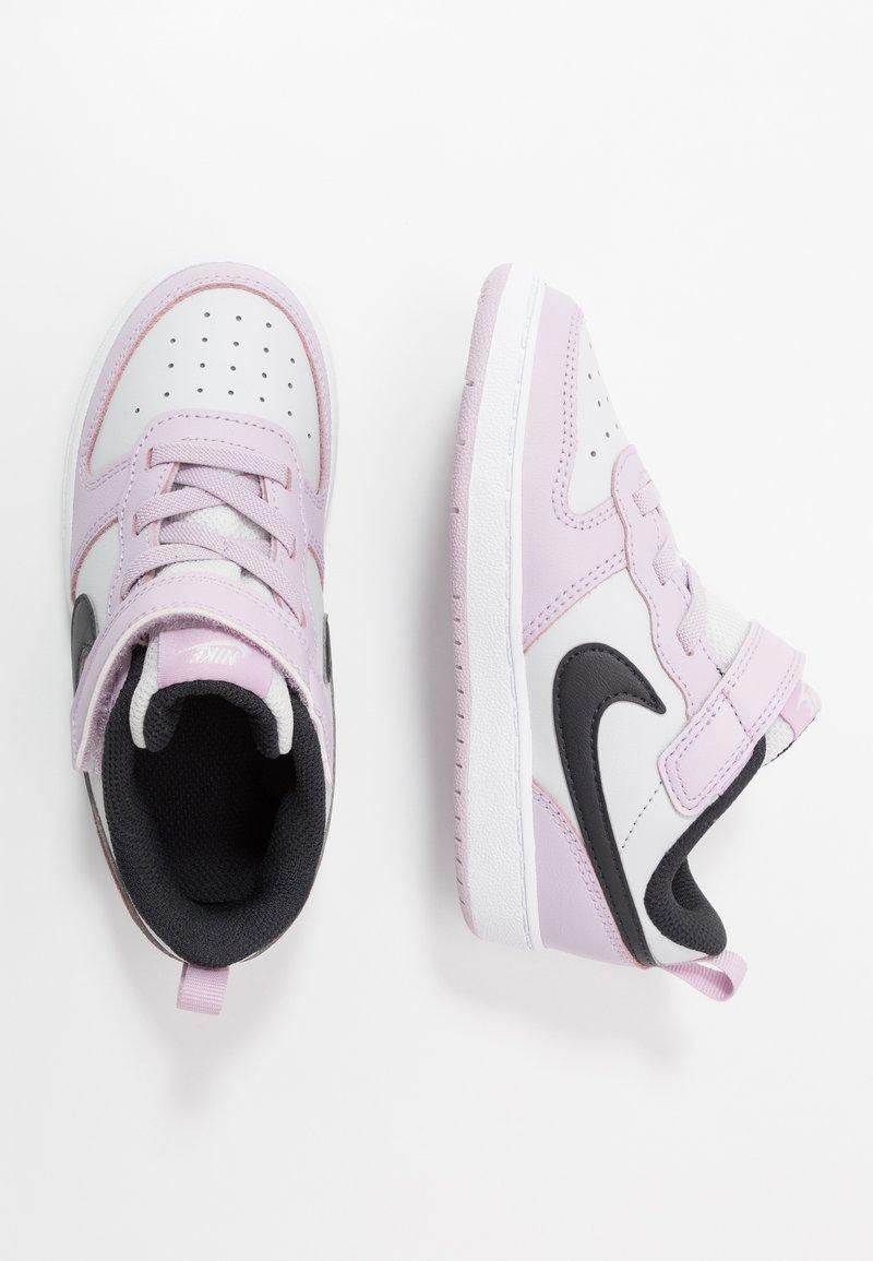 Nike Sportswear - COURT BOROUGH 2 UNISEX - Zapatillas - photon dust/off noir/iced lilac/white