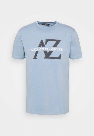 BENVIO TEE - T-shirt print - sky blue