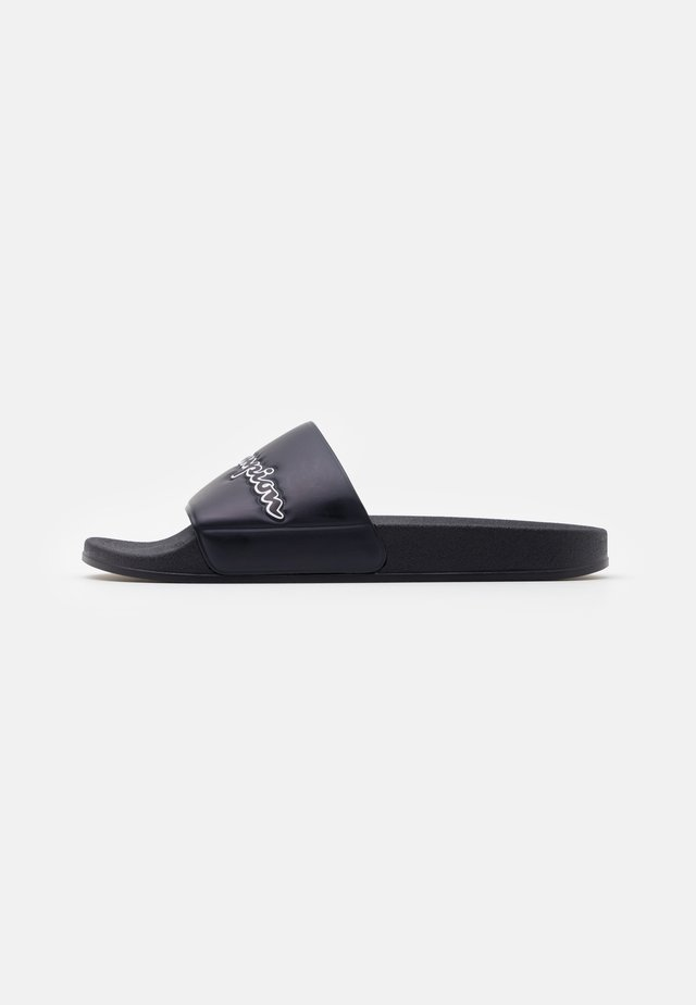 SLIDE EVO SCRIPT - Badslippers - new navy