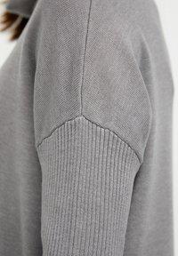 Finn Flare - Jumper dress - grey melange - 5