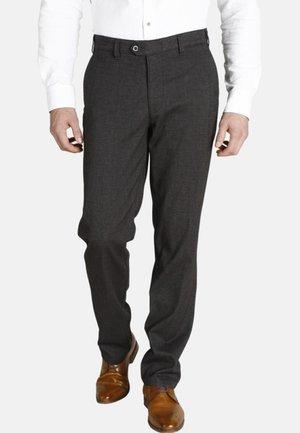 DUKE  - Trousers - brown