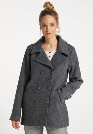 CABANJACKE - Short coat - grau melange
