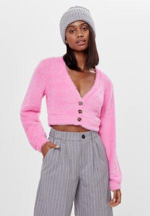 FUZZY - Gilet - neon pink