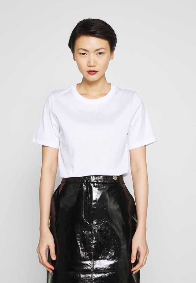 DEIRO - T-shirt basique - pure white