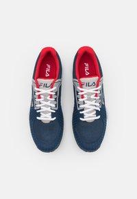 Fila - Tenisové boty na všechny povrchy - peacoat blue - 3